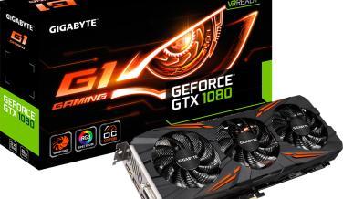 Gigabyte G1 gaming GTX 1080 con iluminación RGB y 8+2 fases de alimentación