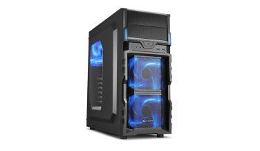 Chasis de pc Sharkoon VG5-W para la configuración de pc gamer por menos de 600 €