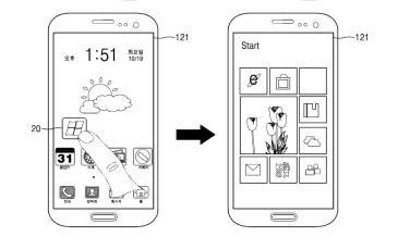Samsung patenta un teléfono que usa Android y Windows a la vez