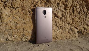 El Huawei Mate 9 desde la parte trasera