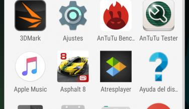 Las aplicaciones que vienen instaladas de fábrica en el Moto Z Play