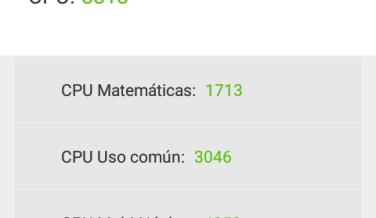 Alcatel Pixi 4 en AnTuTu