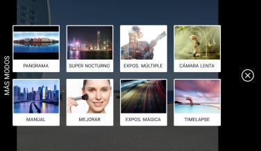 Los diferentes modos de imagen que tiene la aplicación (más allá de las fotografías convencionales, el efecto Bokeh y la grabación de vídeo)