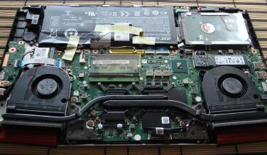 Acer Aspire VX 15 Hardware