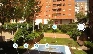 Aplicación de cámara del Moto G5