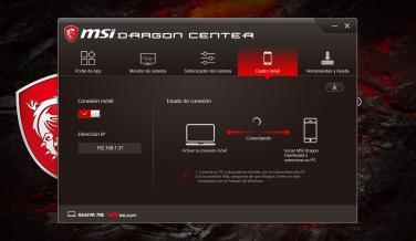 MSI GS43VR 7RE Phantom Pro, software