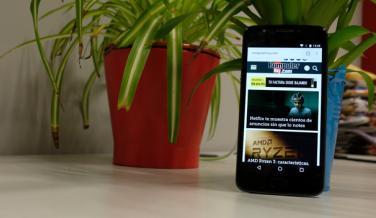 Diseño del Moto E4: Fotos del móvil de gama de entrada