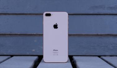 Y así es el nuevo iPhone 8 Plus visto por atrás, con el cristal como gran protagonista