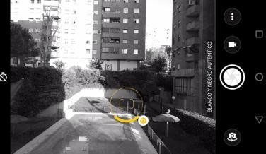 Aplicación de cámara del Moto Z2 Force