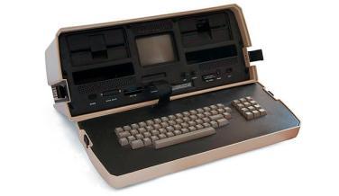 Osborne 1, el primer portátil comercializado de la historia.