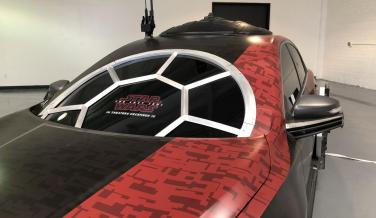 Así es el Nissan Altima TIE Fighter: el coche oficial de Star Wars, en fotos