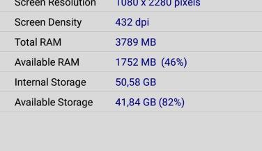 Huawei P20 Lite, benchmarks