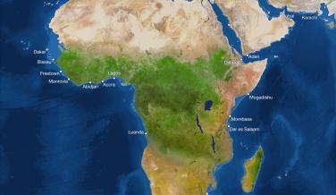 Así quedará el mundo con la subida del nivel del mar provocada por el cambio climático