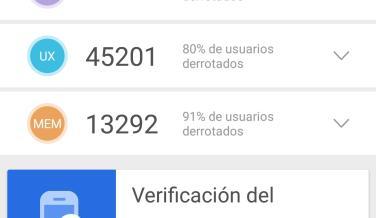 Pruebas de rendimiento del Huawei P20: AnTuTu, 3DMark y GeekBench 4