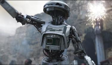 L3-37 en Han Solo: Una historia de Star Wars