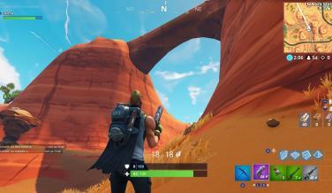 Fortnite Mapa Oasis Punto 2