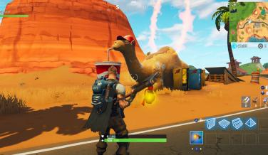 visita camello fortnite