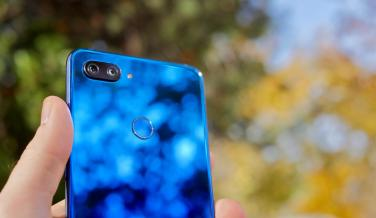 Photos of the design of the Xiaomi Mi 8 Lite