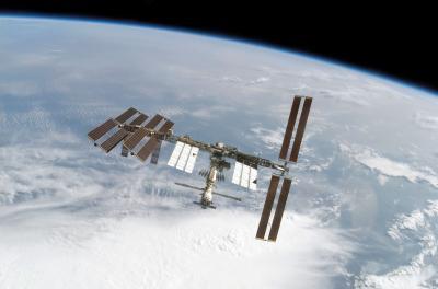 Hilo para dar los buenos días Estacion-espacial-internacional