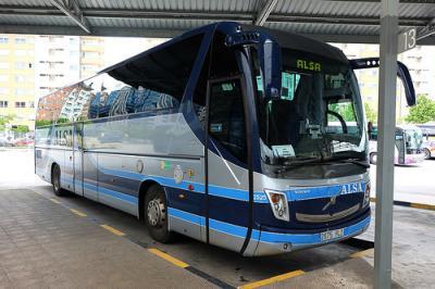 La compañía Alsa cubre la ruta entre Madrid y Zaragoza