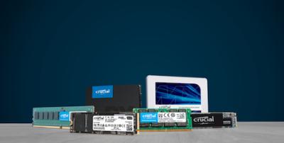 CRUCIAL DRAM Y SSD