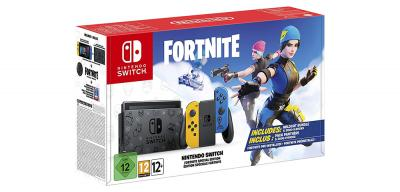 Nintendo Switch Edición Especial Fortnite