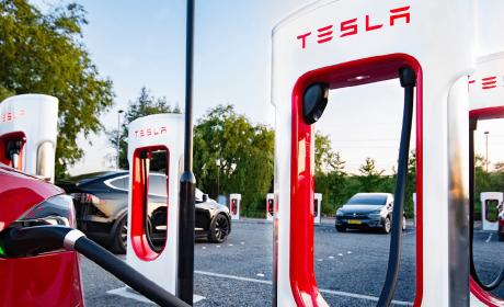 Super cargadores Tesla