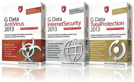 Gama de productos G Data 2013