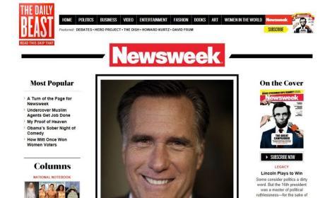 Intefaz de Newsweek