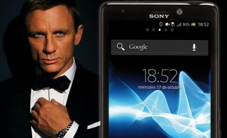 Sony Xperia T, el móvil de James Bond en Skyfall