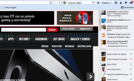 Socialfox, extensión de Facebook para Firefox