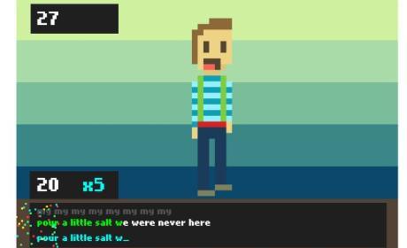 TypingKaraoke juego de Karaoke en internet por teclado