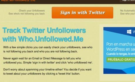 ¿Cómo saber quién deja de seguirte en Twitter?