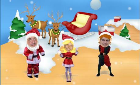 Crea postales animadas de Navidad para enviar