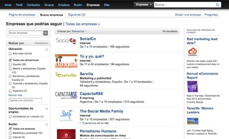 contacta con profesionales en LinkedIn