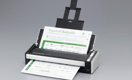 Fujitsu ScanSnap S1300i, escanear es fácil