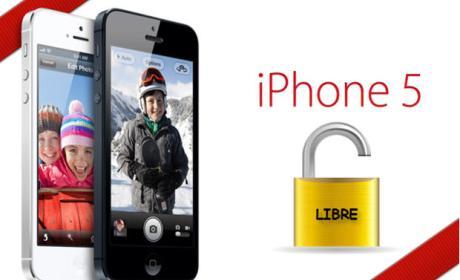 Iphone 5 desbloqueado