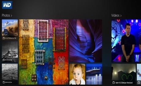 Nueva app de Western Digital para Windows 8