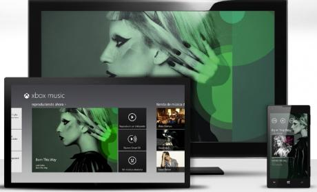 ¿Música en streaming en Skydrive?