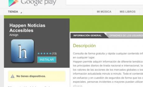 apps accesibilidad Android