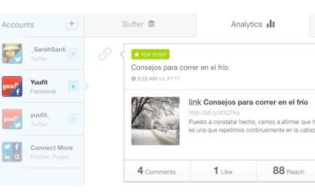 actualización buffer app