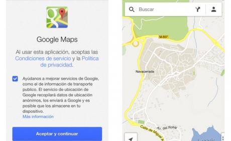 La app de Google Maps para iOS ya está disponible