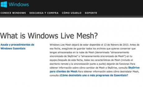 Windows Live Mesh
