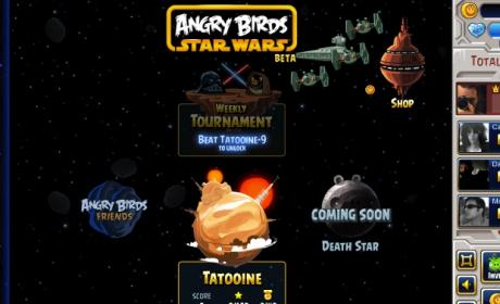 Angry Birds Star Wars ya está en Facebook
