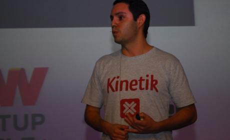 Kinetik CEO Raúl Moreno