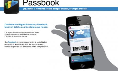 Estas navidades, regala entradas con entradas.com y Passbook
