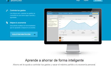 Ahorro.net es una startup española que te permite controlar tus gastos online.