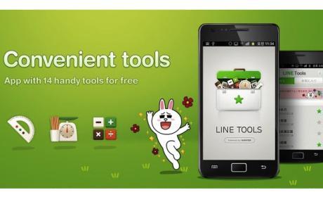 Utiliza las herramientas de LINE Tools