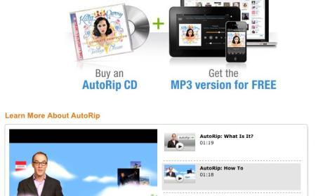 AutoRip descarga musica digital Amazon