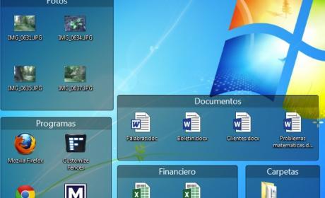 Organiza los iconos del escritorio de Windows con Fences